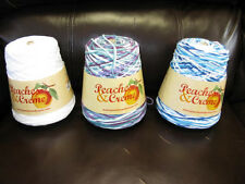PEACHES AND CREAM WORSTED COTTON 14OZ CONE  4 PLY