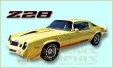 1979 Chevrolet Camaro Z28 Decals & Stripes Kit