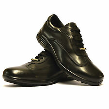 Mens Casual Smart Lace Up Leather Walking Running Trainers Driving Shoes Size