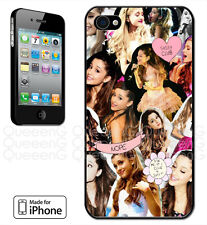 Made for iPhone 4, 4S, 5, 5S, 5C Case Ariana Grande Cute Singer Sweet