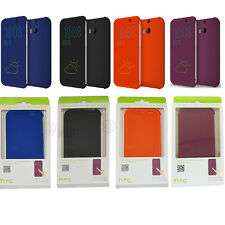 100% Genuine 2014 HTC One M8 Dot View Flip Warp Up Case Cover In Retail Package
