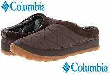 NWB Columbia Packed Out Omni-Heat Cozy Slippers Comfy Home Thermal Shoes Brown