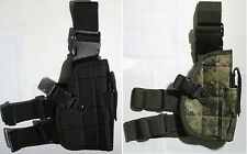 New Tactical Nylon Leg/Waist Pistol Holster---Airsoft