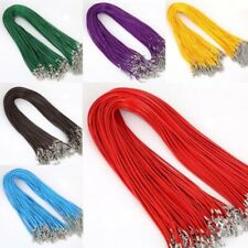 10Pcs Free Shipping 1.5MM Adjustable Chains Necklace Charms String Cord