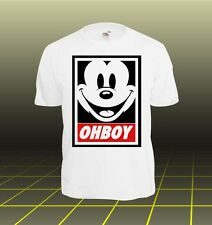 T-Shirt DISOBEY obey Meow Swag Celine Celfie Hipster Homies CC anonymous NEU* X