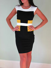 *NEW*French Connection Iconic Manhattan Colour Block Dress sizes 6-12