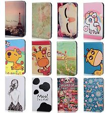 Cute Cartoon Smart Flip Wallet Case Cover For Samsung Galaxy Tab 3 8'' T310 T311