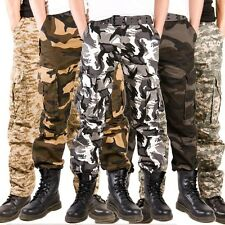 Pants Military Camo BDU Army Tactical Combat Camouflage Fatigue Trousers