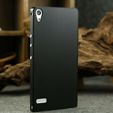 New Ultra-thin Metal Aluminum Bumper Hard Case Back Cover For Huawei Ascend P6