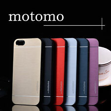 Motomo Deluxe Metal Brush Cover Case for iPhone 6 6G 6 Plus 5 5S 5G 5th 4S 4G 4
