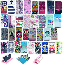 New Folio Flip Wallet PU Leather Case Soft Cover for Sony Xperia Z1 Compact Mini