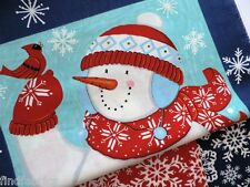Be Jolly Panel & Snowflakes by Moda 100% Cotton Fabrics from the Bolt for Quilt