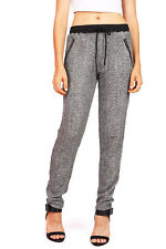 Trendy Womens Lounge Sweat Pants Joggers Stretchy Waist Drawstring Casual S M L