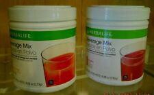 HERBALIFE Beverage Mix - 2 Flavors:Peach Mango 273g and  Wild Berry 280g