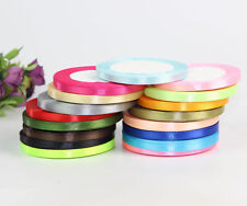 25 Yards Craft Satin Ribbon Wedding Craft Sewing Decorations Many Color 8mm