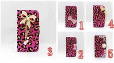 LUXURY DIAMOND RHINESTONE BLING CRYSTAL COVER WALLET CASE FOR MOBILE PHONES 4