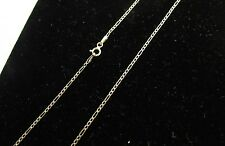Solid 14k Yellow Gold Figaro Link Chain Necklace 1.5mm Made in Italy