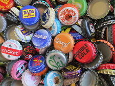 100 Bottle caps ( Pick Your Brand)  Soda or Beer ( Undented )