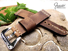 Panerai Strap watch band Genuine leather Any size Available Vintage Look