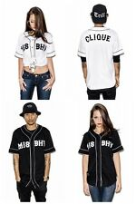 Europe Fashion baseball T-SHIRT Jersey unisex hip hop Tyga street culture KTZ
