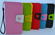"""Flip PU Leather Wallet Case Card Holder Cover For Apple iPhone 6 4.7"""" US SELLER"""