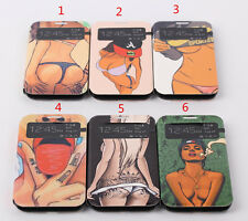 Ultra Thin PU Leather Sexy Girl Flip Case Cover f Samsung Galaxy S4 S 4 IV i9500