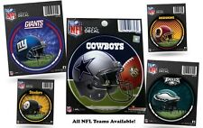 NFL NEW Round Vinyl Decal / Sticker - CHOOSE YOUR TEAM