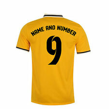 Football shirt Name and Number Iron on or Heat Press Transfer Printing Sets