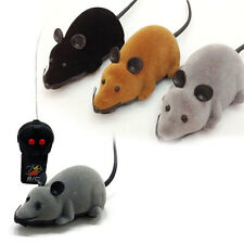 Remote Control Electronic Wireless Rat Mouse Mice Toy For Cat Dog Gift Funny
