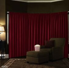 LINED THEATER ABSOLUTE VELVET BLACKOUT ENERGY EFFICIENT WINDOW CURTAIN PANEL NEW