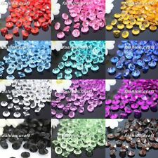 Nice 1000pcs 7mm Crystal Diamond Confetti Wedding Party Table Scatter Decoration