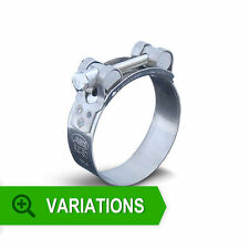 Stainless Steel T-Bolt Hose Clamp for Silicone Hose - 17mm upto 127mm
