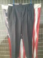 Navy Blue Work Pants - Many sizes- 46 Waist -Dickies or Red Kap - poly/cotton