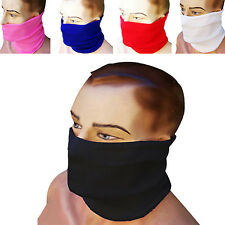 Cycling Neck Warmer Wind Resistant Tube Cold Weather Face Mask MULTI COLORS