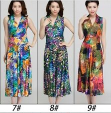 2014 Hot NEW NWT Evening/Summer Sexy Women Long Maxi Dress Size L-XXXL 10 colors