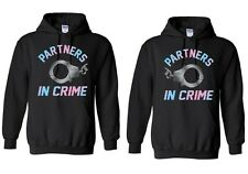 Couple Matching Partner's In Crime - Hoodies