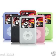 Silicone Skin Cover Case for iPod Classic Black color