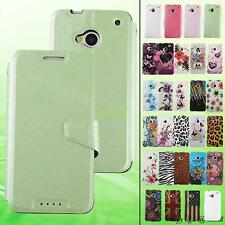 Butterfly Flower Pattern Soft TPU Back Case Cover Protector For HTC One M7