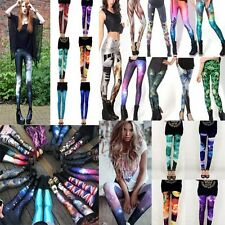 Womens Variety Galaxy Collections Printed Stretchy Tights Leggings 79 styles S-L