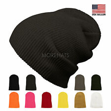 Slouchy Corduroy Beanie Winter Warm Ski Skater Hip-hop Hat Men's Women's Unisex