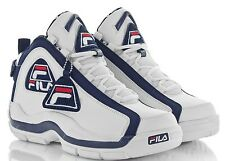Men's FILA Varsity/Colorway 96 WHITE/NAVY/RED Basketball Sneaker 1VB90064 NIB