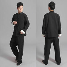 Traditional Chinese Style Jackie Chan Kung Fu Suit Tai Chi Uniform Jacket Coat
