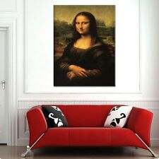 TIME4ART LEONARDO DA VINCI MONA LISA CANVAS PRINT GICLEE ART ALL SIZES FRAMED