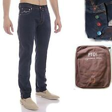 MEN'S JEANS PANTS PANTALONI TORINO PT05 C5P57T RS80 BLUE