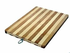 Large Bamboo Wooden Chopping Board Wood Kitchen Food Worktop Cutting Dicing