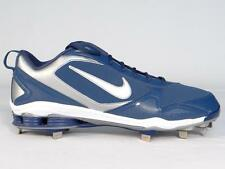 Nike Shox Zoom Fuse 2 Metal Baseball Cleats Blue & Silver Softball Mens NEW