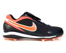 Nike Air Zoom Coop V Black & Orange Metal Baseball Softball Cleats Mens NEW