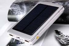 9000mAh Dual USB Portable Solar Battery Charger Power Bank For Cell Phone/iPad