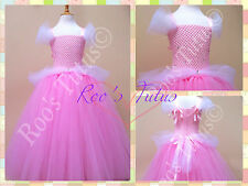Pink Princess tutu dress costume (Handmade). Party, Dress up, Cinderella Style
