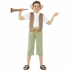 Boys BFG Costume Roald Dahl Book Day Character Costume Fancy Dress Fun Outfit